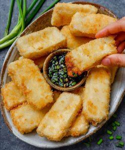 Çıtır Tofu Dilimleri