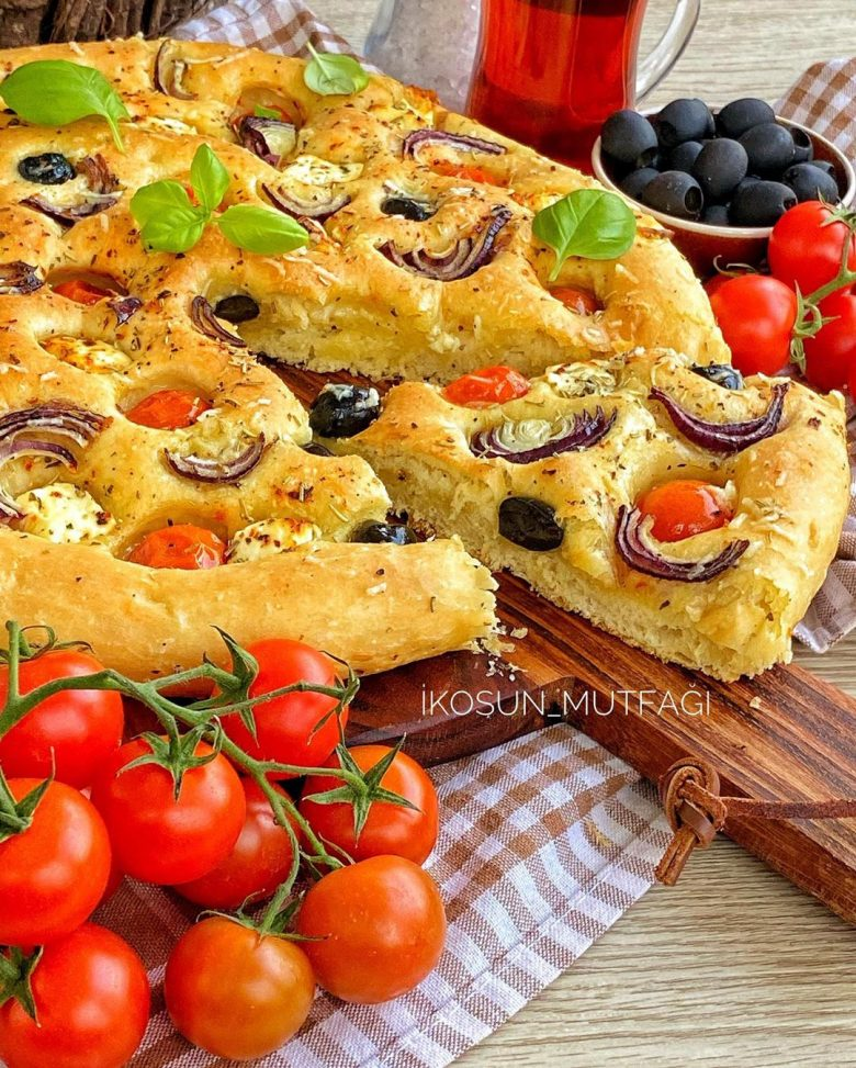 Foccacia Ekmeği