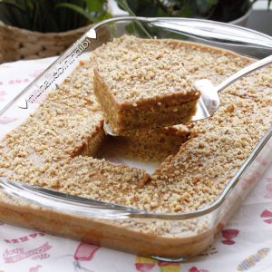 Havuçlu Karamel Muhallebi̇li̇ Kek